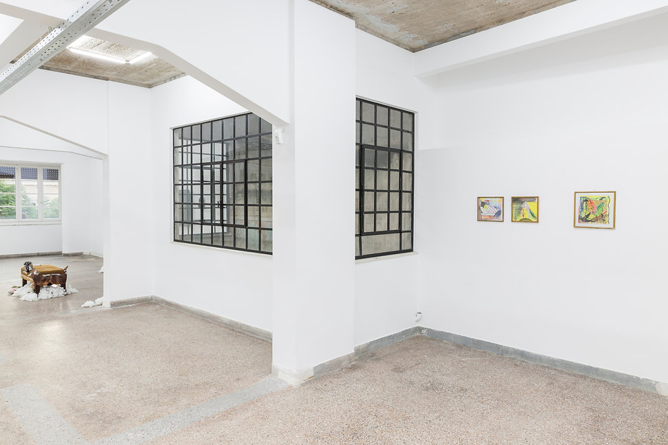 12_Pet Cemetery, 2019, Installation View