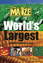 maize worlds largest corn maze booklet
