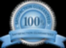 satisfaction guaranteed logo ribbon