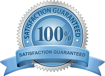 satisfaction guaranteed logo ribbon