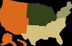 united states region icon