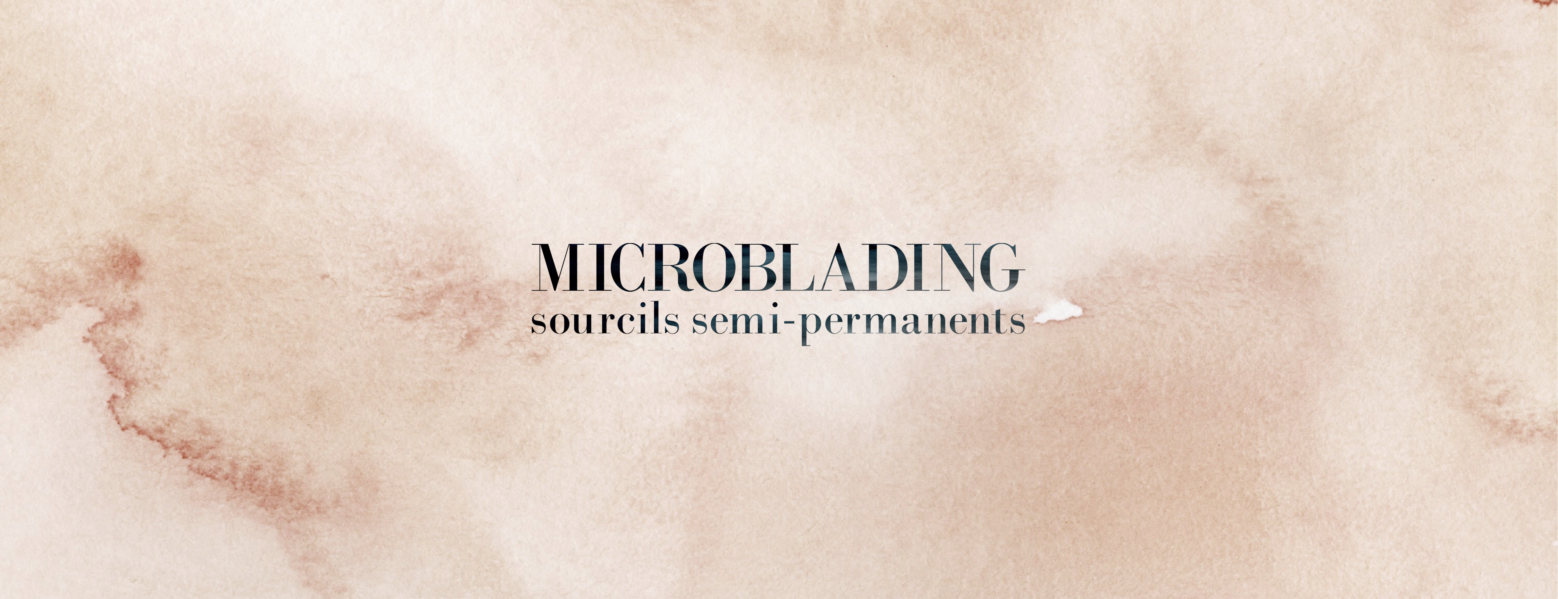 microblading sourcils semi-permanents