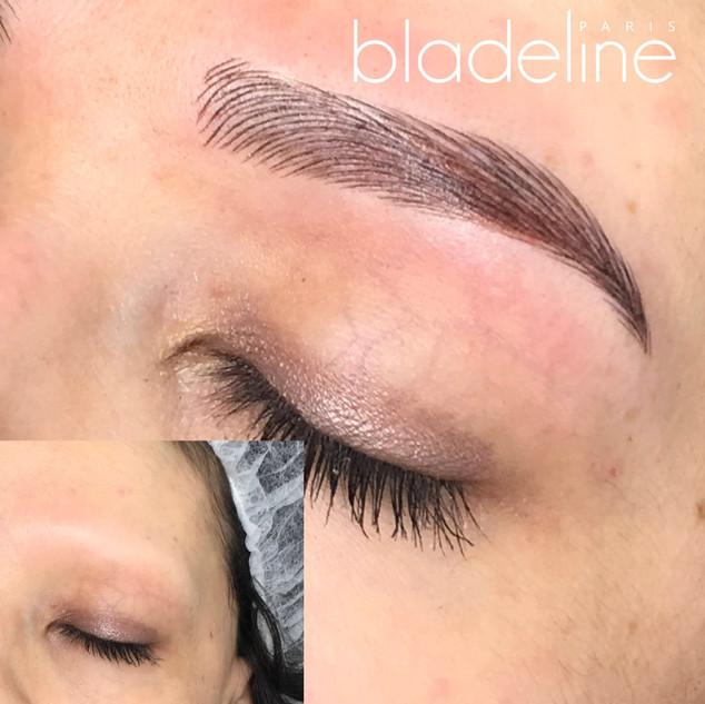 Alopecie sourcils semi permanent  microblading