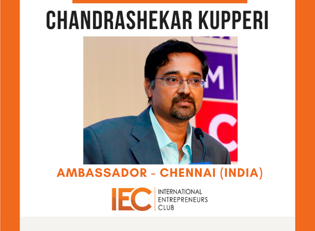 Announcing our new Ambassador from Chennai (India)