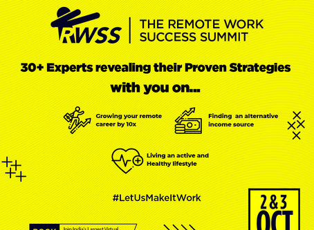 """Join us at """"The Remote Work Success Summit"""""""