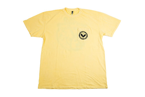 Little Chris Music Dyed Shirt Yellow