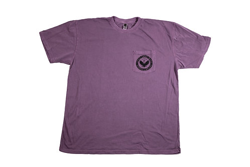 Little Chris Music Dyed shirt Purple