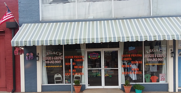 We customize store fronts to fit your needs to promote your business.