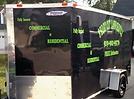 Custom decal trailers