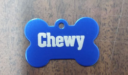 custom dog tags front