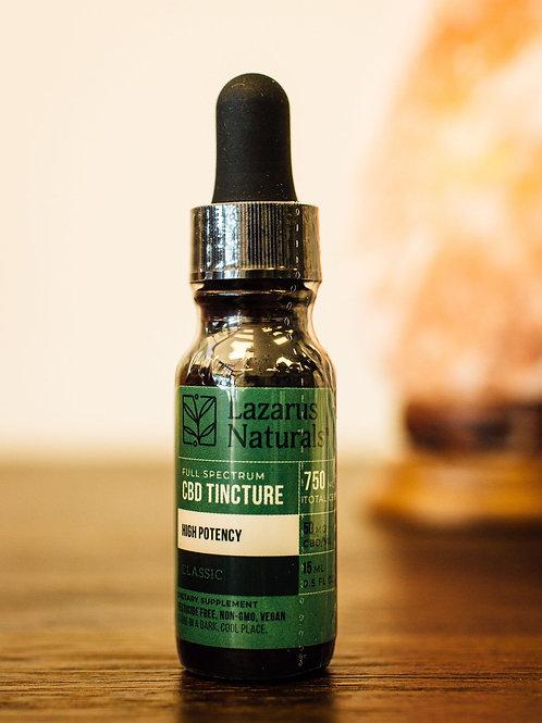 Lazarus Naturals CBD Oil, 0.5 Oz