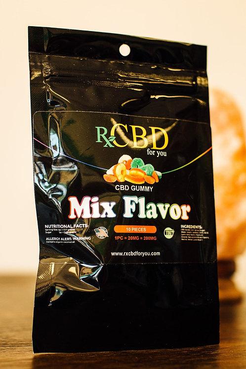 RXCBD 200mg mix