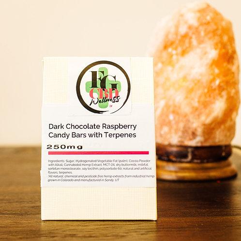 CBD chocolate-raspberry