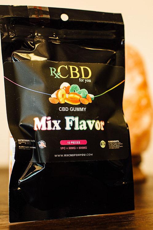 RXCBD 500mg mix