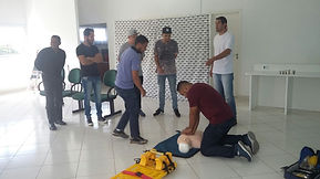 Treinamento Primeiros Socorros GB Consultorias