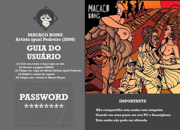 Macaco Bong - Artista igual Pedreiro (Full Album)