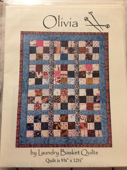 Modèle pour patchwork Olivia