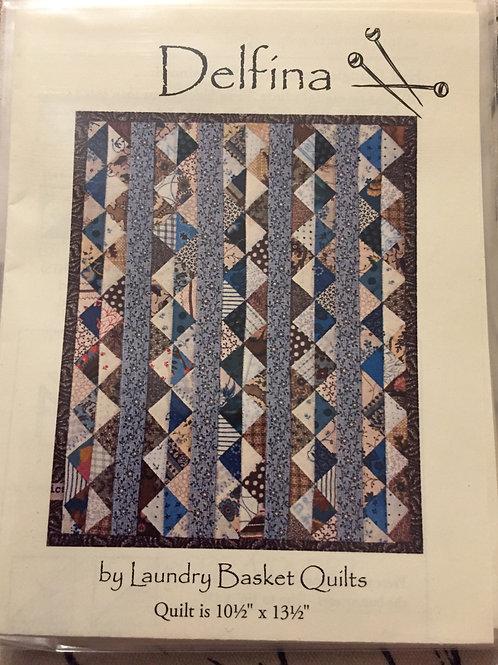 Modèle pour patchwork Delfina