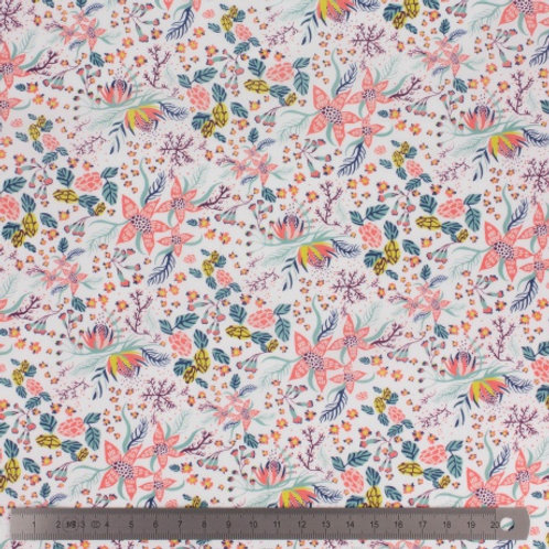 Coupon Tissu Liberty Beach Blossom