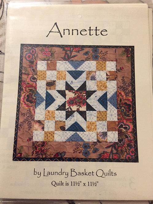 Modèle pour patchwork Annette