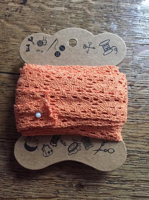 Dentelle Orange Coton