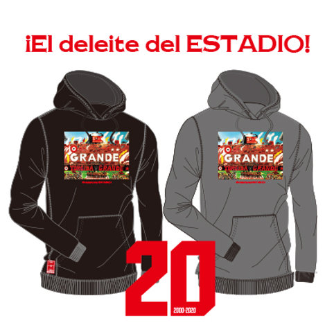 GRANDE 20TH ANNIVERSARY PHOTO HEAVY PARKA ¡El deleite del ESTADIO!