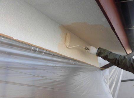 さいたま市K様邸 屋根・外壁塗装工事施工中⑥