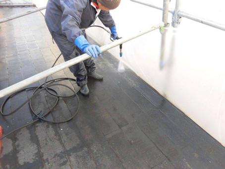さいたま市K様邸 屋根・外壁塗装工事施工中①