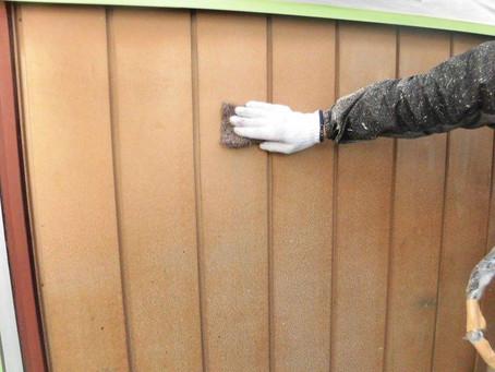 さいたま市K様邸 屋根・外壁塗装工事施工中⑧
