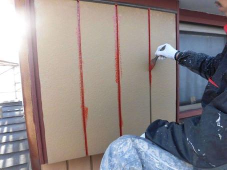 さいたま市K様邸 屋根・外壁塗装工事施工中⑨