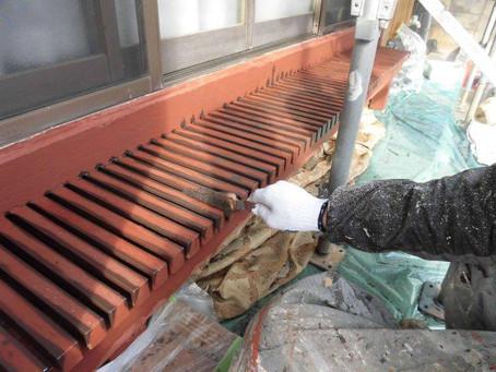 さいたま市K様邸 屋根・外壁塗装工事施工中⑭