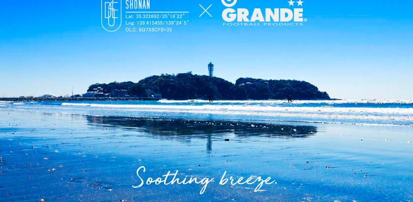DUE GENERAL STORE SHONAN × GRANDE FOOTBALL PRODUCTSコラボアイテムを発売