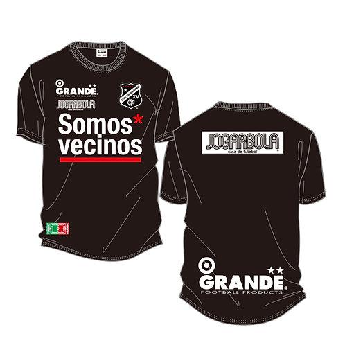 """GRANDE×JOGARBOLA """"Somos* vecinos"""" DRY MESH T-Shirts"""