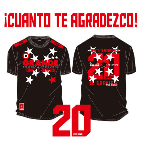 GRANDE 20TH ANNIVERSARY T-SHIRTS 'XX'