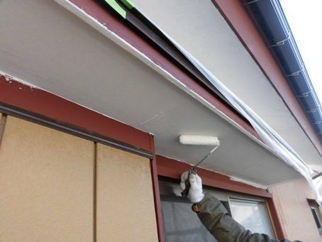 さいたま市K様邸 屋根・外壁塗装工事施工中④