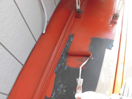 和光市S様邸 塗装工事施工中