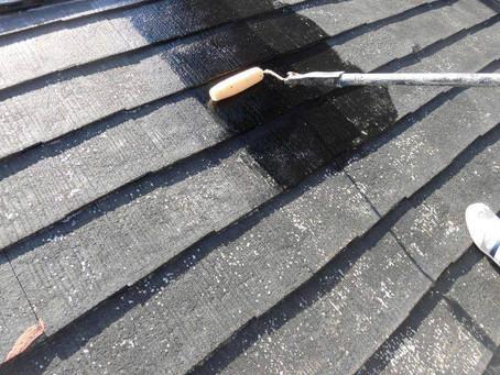 さいたま市K様邸 屋根・外壁塗装工事施工中⑪