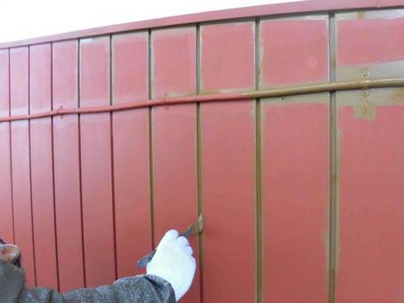 さいたま市K様邸 屋根・外壁塗装工事施工中⑩