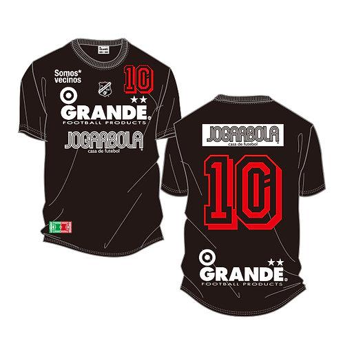"""GRANDE×JOGARBOLA """"Somos* vecinos"""" COTTON T-Shirts"""
