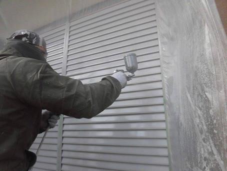 さいたま市K様邸 屋根・外壁塗装工事施工中⑬