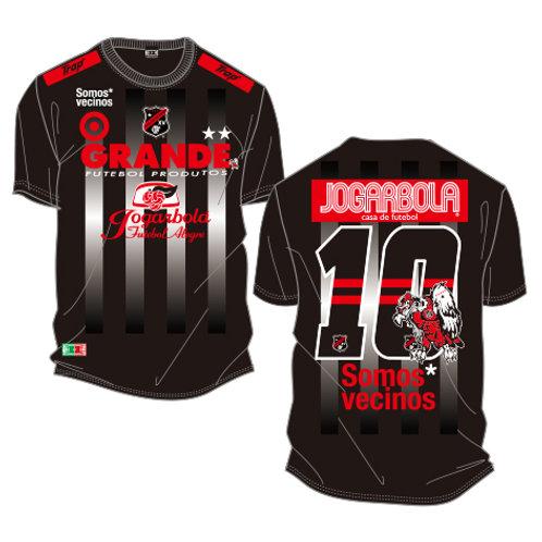 """GRANDE×JOGARBOLA 2°""""Somos* vecinos 2020"""" COTTON T-Shirts"""