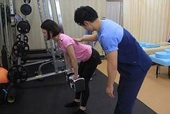 腰痛予防専用トレーニング