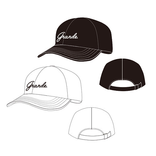 GRANDE be yourself Club Twill Cap