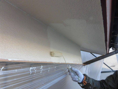 さいたま市K様邸 屋根・外壁塗装工事施工中⑦