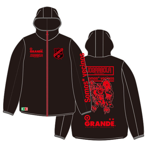 "GRANDE×JOGARBOLA 2°""Somos* vecinos.2020"" ALL CONDITION JACKET"