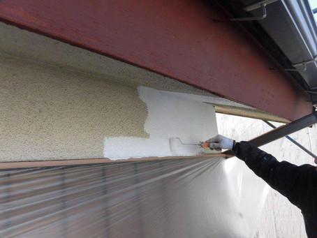 さいたま市K様邸 屋根・外壁塗装工事施工中⑤
