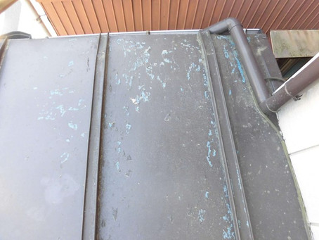 和光市S様邸 トタン屋根塗装