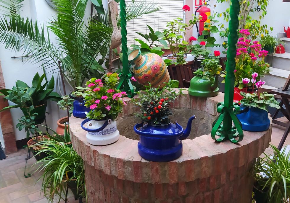 Pozo patio