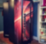 Vitesse tanning booth at Soleil Bronze tanning spa & boutique