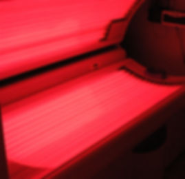 Red-Light Therapy bed at Soleil Bronze tannin spa & boutque